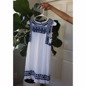 Lucky Brand greece inspired dress